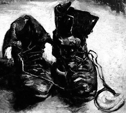chaussure de paysan van gogh