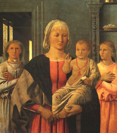 madone de senigallia (piero della francesca, 1474)