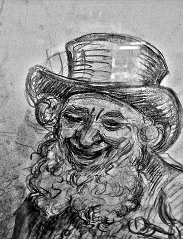 Le rire fait chair dans Communauté spirituelle levy-homme-chapeau-rire
