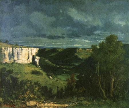 Courbet repr sente dans la peinture une sc ne d 39 activit for Combien prend un peintre au m2