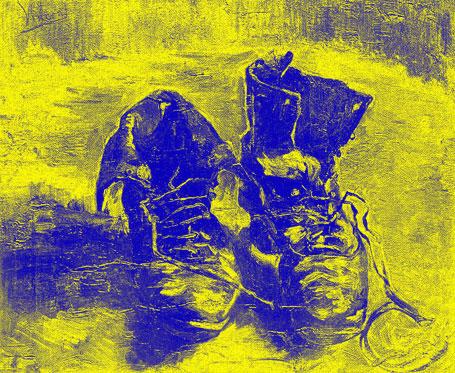 De Une Chaussure Gogh Paire Van byIfY76vmg