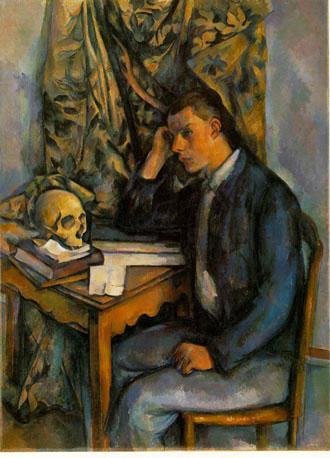 La peinture ne dit rien mais r sonne jeune homme a la - Tableau tete de mort castorama ...