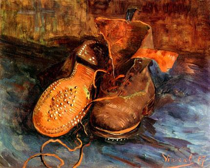 Les souliers de van gogh jouent sur la proximit du voyeur - Analyse du tableau la chambre de van gogh ...
