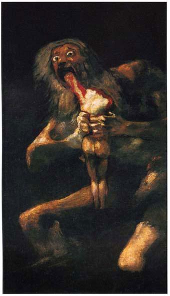 Résultats de recherche d'images pour «saturne dévorant un de ses fils»