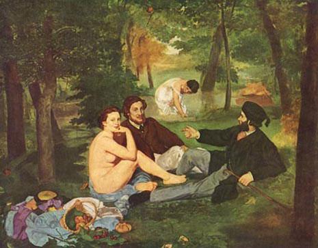 Le Déjeuner sur herbe, Edouard Manet | Blog philo jm